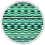 Pattern 87 Round Beach Towel
