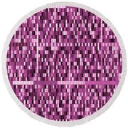 Pattern 95 Round Beach Towel