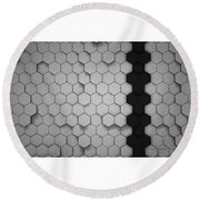 Pattern Round Beach Towel