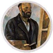 Paul Cezanne (1839-1906) Round Beach Towel