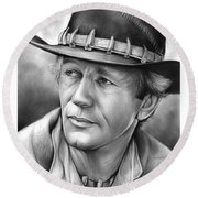 Paul Hogan Round Beach Towel