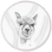 Paul Round Beach Towel