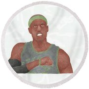 Paul Pierce  Round Beach Towel