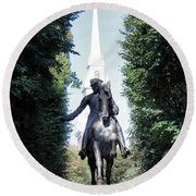 Paul Revere Round Beach Towel