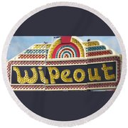 Pavilion Wipeout Round Beach Towel