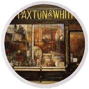 Paxton Whitfield .london Round Beach Towel by Tomas Castano