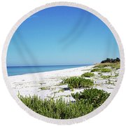 Peace Gp Round Beach Towel