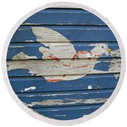 Peace In All Places Round Beach Towel