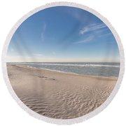 Peaceful Round Beach Towel