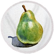 Pear Round Beach Towel
