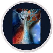 Pearl Of The Orient Round Beach Towel