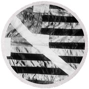 Pearys Expedition Round Beach Towel