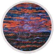 Pebeo After The Sunset Round Beach Towel