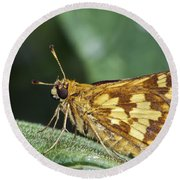 Peck's Skipper Round Beach Towel