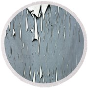 Peeling Paint 1 Round Beach Towel
