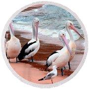 Pelican 5.0 Pearl Beach Round Beach Towel