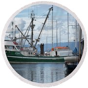 Pender Isle At French Creek Round Beach Towel