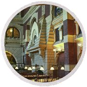 Penn Fine Arts Library Round Beach Towel