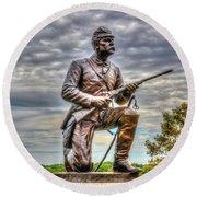 Pennsylvania Cavalry - Culps Hill Round Beach Towel