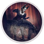 Penny Dreadful Round Beach Towel