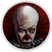 Pennywise 2 Round Beach Towel