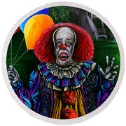 Pennywise It Round Beach Towel