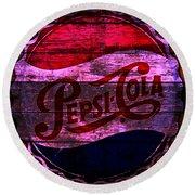 Pepsi Cola 1a Round Beach Towel