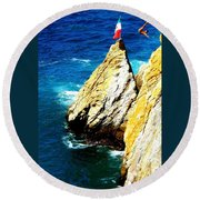 Perfect Form Round Beach Towel