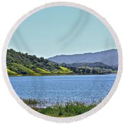 Perfect Spring Day Round Beach Towel