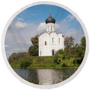 Perfect Temple Round Beach Towel