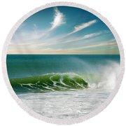 Perfect Wave Round Beach Towel