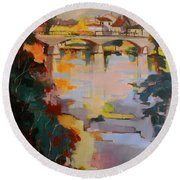 Perigueux 2016 Round Beach Towel