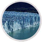 Perito Moreno Glacier #2 - Patagonia Round Beach Towel