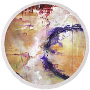 Perpetual Motion - Squared Round Beach Towel