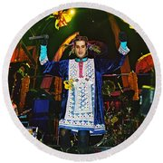 Perry Farrell Round Beach Towel