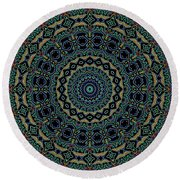 Persian Carpet Round Beach Towel