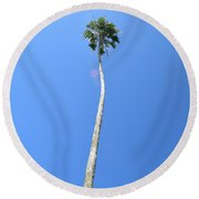Perspective Round Beach Towel