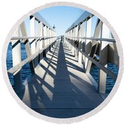 Perspective Iv Round Beach Towel