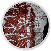 Perspectives - Plaque Round Beach Towel