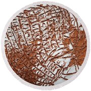 Perspectives - Tile Round Beach Towel