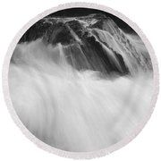 Pfeiffer Beach Sp 8243 Round Beach Towel