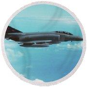 Phantom Fgr.2 / Xv404 Round Beach Towel