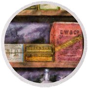 Pharmacist - Assorted Cures Round Beach Towel