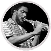 Pharoah Sanders 3 Round Beach Towel