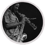 Pharoah Sanders 4 Round Beach Towel