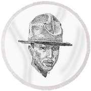 Pharrell Round Beach Towel