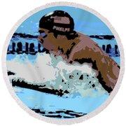 Phelps 2 Round Beach Towel