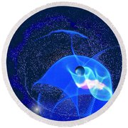 Phenomenon Round Beach Towel