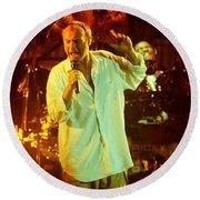 Phil Collins-0903 Round Beach Towel
