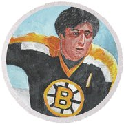 Phil Esposito Round Beach Towel